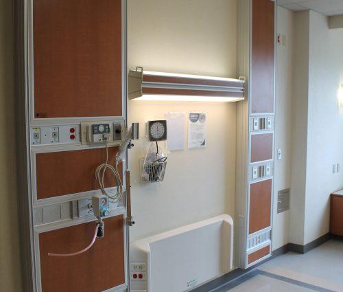 8th Floor West Tower 34 EICU Patient Room Renovation