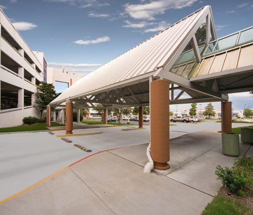 Drive Canopy & Entrance Rework