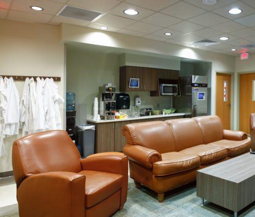 2nd Floor Doctor's Lounge and Locker Room