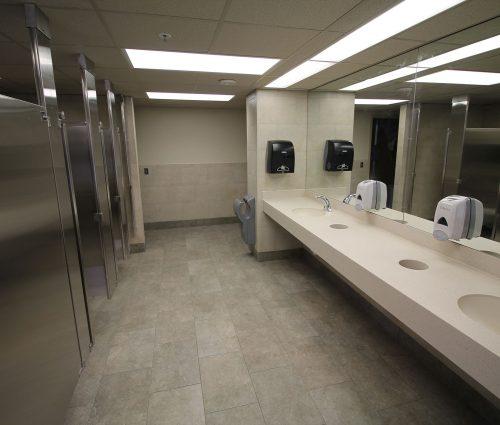 Atrium Improvements-Restrooms